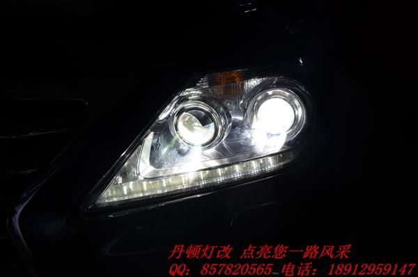 凌志lx570汽车大灯可以改装吗高清图片