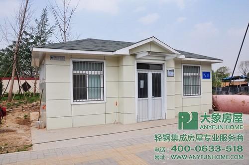 旅游公厕选用装配式钢结构体系建造优势凸显