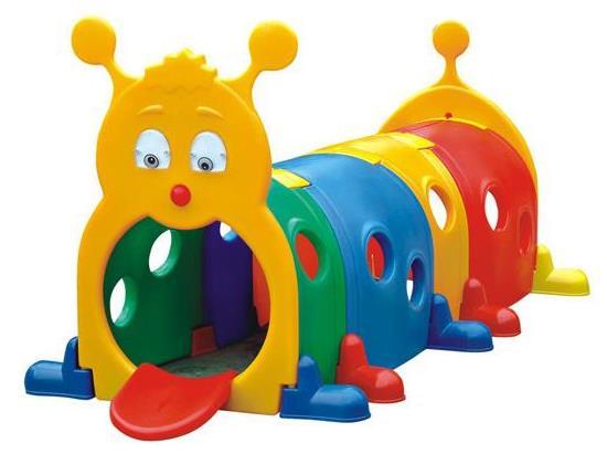 幼儿园玩具厂,快乐火车头钻洞隧道