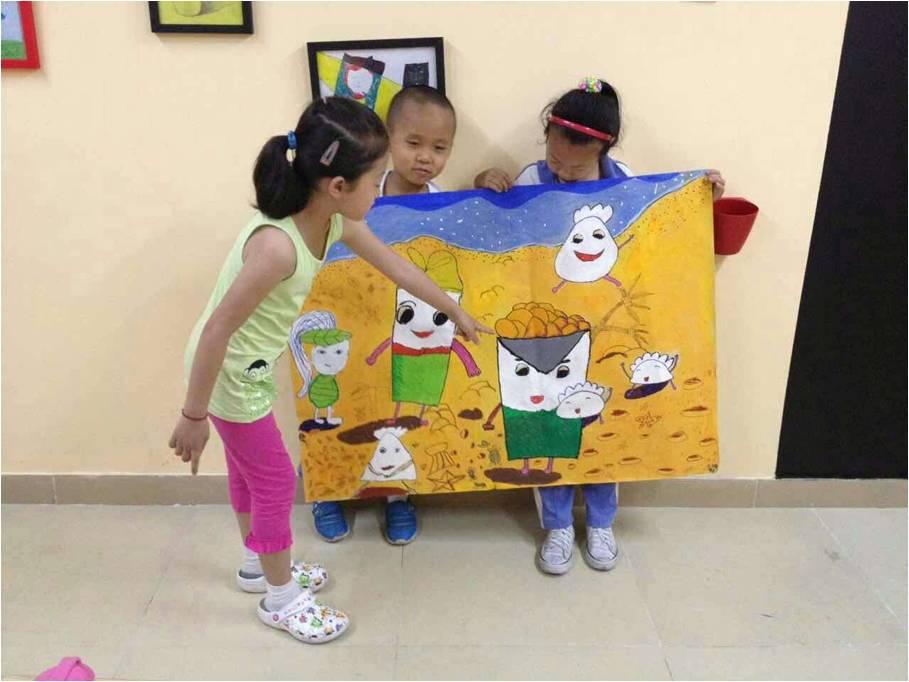 少儿美术创意课程|少儿美术培训班|多多熊儿童美术教育图片