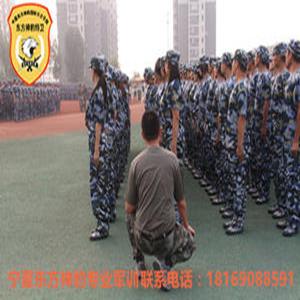银川品牌军训机构值得信赖