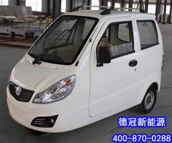 想要买车身舒适性能可靠的小福星电动汽车 老年代步车 德冠高清图片