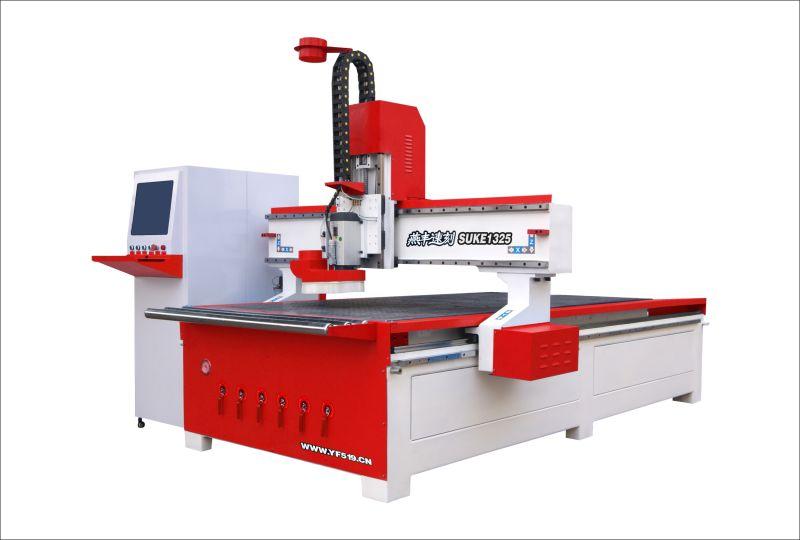 东莞燕丰数控雕刻机厂家 木工开料机 铝铜板浮雕机