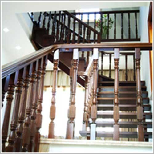 广州实木楼梯特点,艺豪物美价廉,优质之选