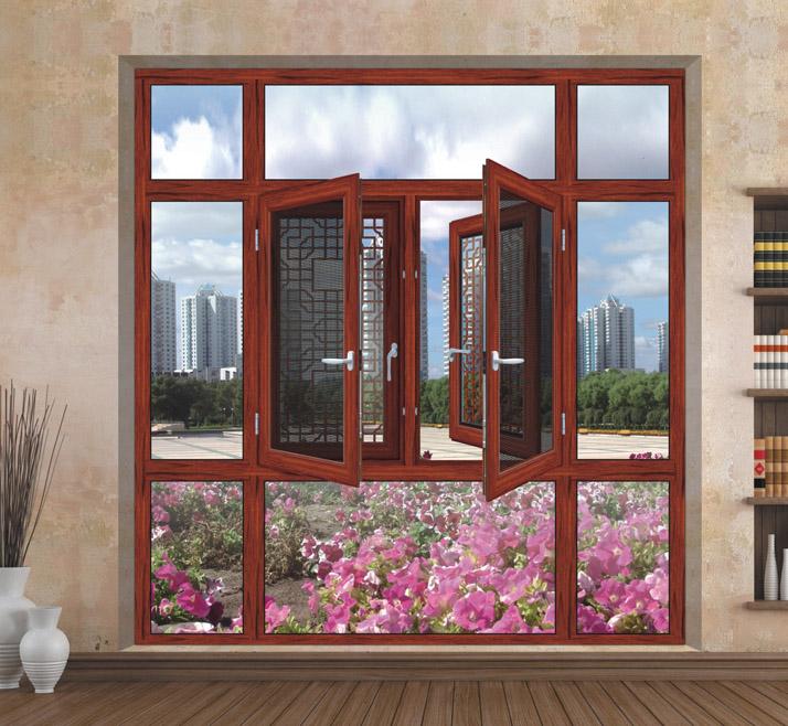 深圳铝合金窗/断桥铝窗/铝合金推拉窗/铝合金平开窗