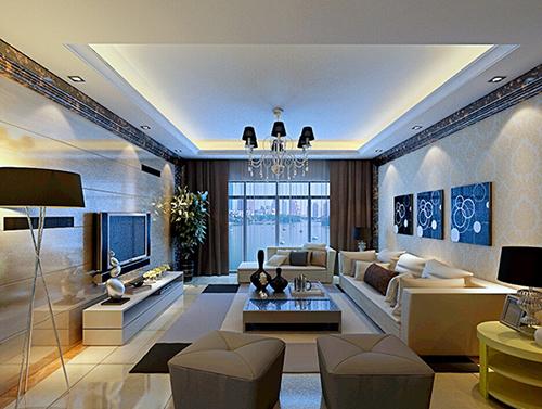 南京普通家庭客厅装修   客厅风水一--开门见客厅   客厅是高清图片