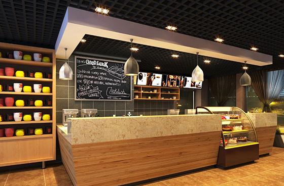 南京咖啡馆室内装修设计价格