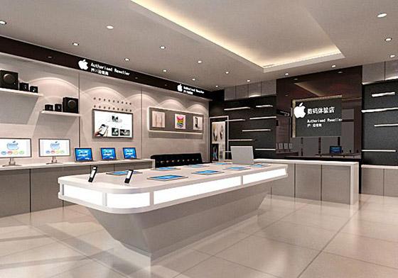 南京手机店铺装修小型店设计