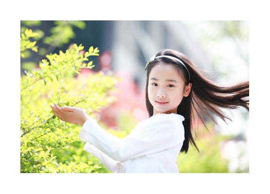10岁女宝宝照拍摄_豆丁儿童摄影