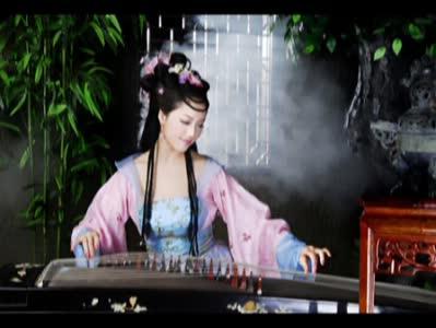 古筝曲谱《女儿情》