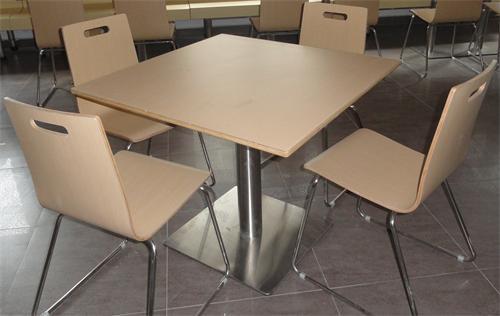 快餐桌椅,玻璃钢工作台,机压圆凳等,如玻璃钢餐桌,不锈钢餐桌等,用于
