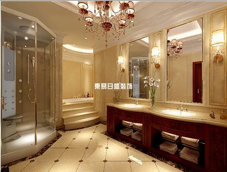 别墅卫生间装修设计布局案例