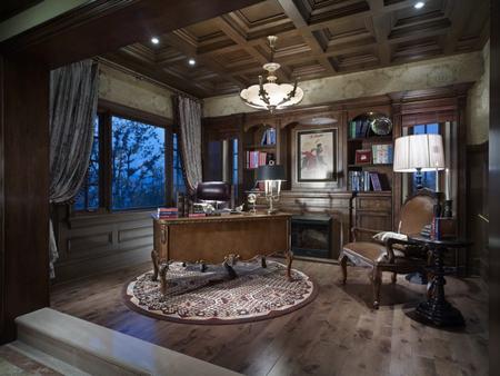 保利礼墅美式风格别墅装修设计方案