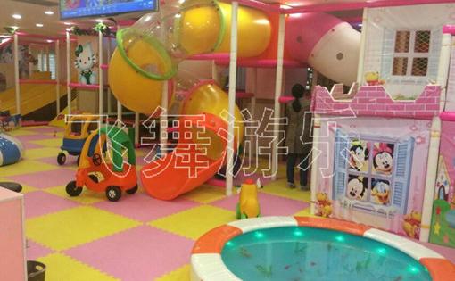 创业好项目淘气堡儿童乐园