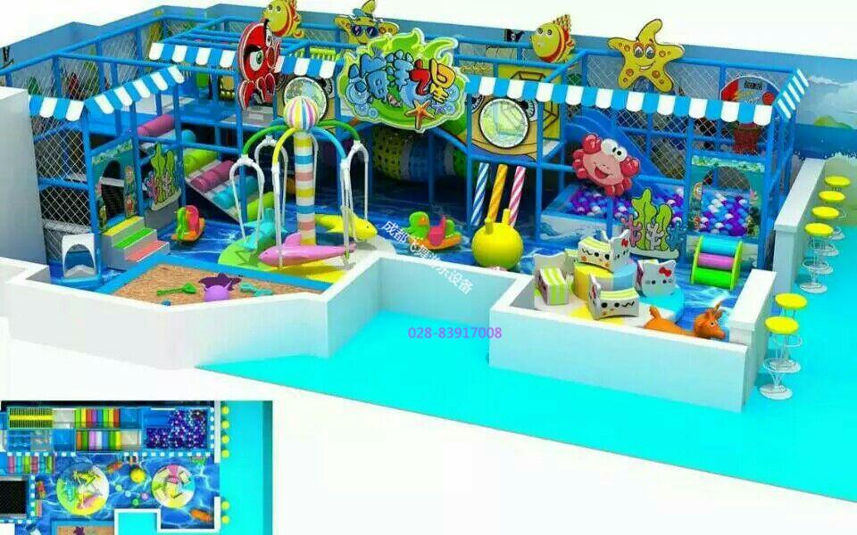 幼儿园冒险岛儿童乐园主题淘气堡