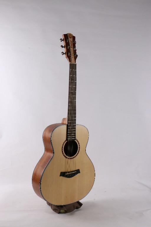 吉他的外形结构图片