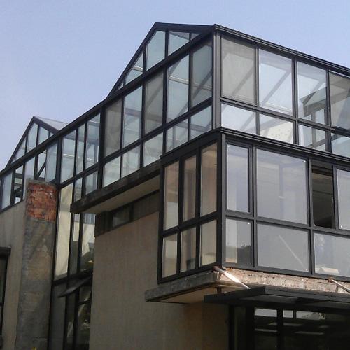 阳光房,喜欢贴近自然的木结构