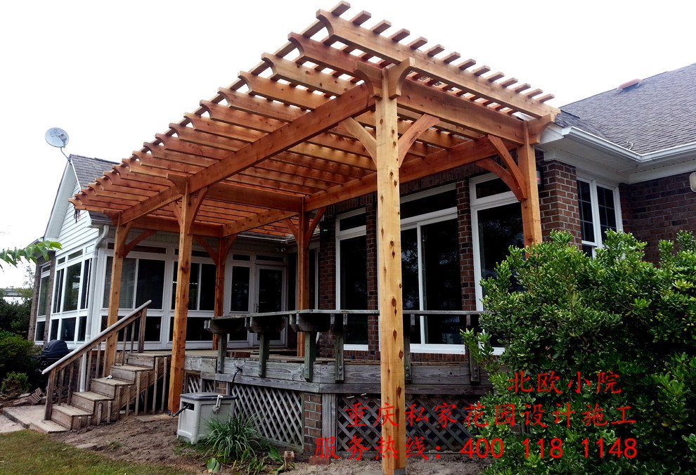 北欧小院专业从事欧式花园设计施工多年