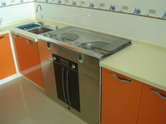 岐装修厨房定制橱柜效果图高清图片