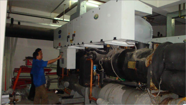 中山水冷螺杆式工业冷水机维修哪家报价最划算