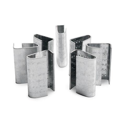 佛山裕苗包装加工生产mm塑钢打包扣,防锈坚固