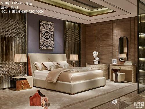 上海欧式家具床定制