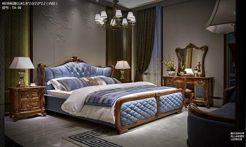 欧式古典家具床,雅阁斯丹