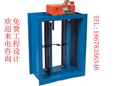 防火阀是在管路上是常开的,是长期开着通风,安装于风管中间,在70摄氏图片