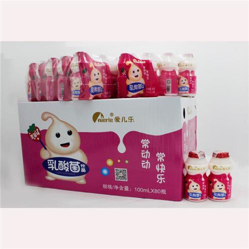 100ml*80瓶草莓味乳酸菌