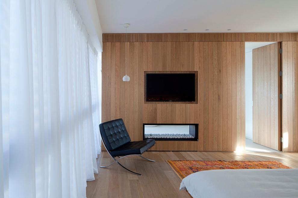 現代電視機背景墻設計