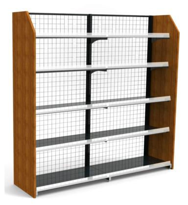 兰州超市木质货架保养|就选润佰 免费热线 400-659-8809