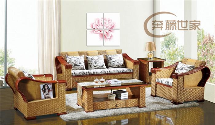 沙发 藤木/如今的藤编家具今非昔比了,走在了时尚家具最前沿,而且被广泛...