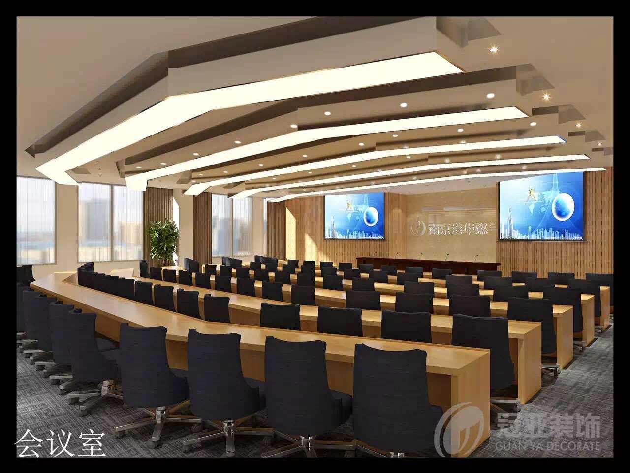 装修 上海/让办公室给人一种明快感也是设计的基本要求,办公环境明快是指...