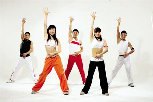 广州鹭江专业健美操培训班