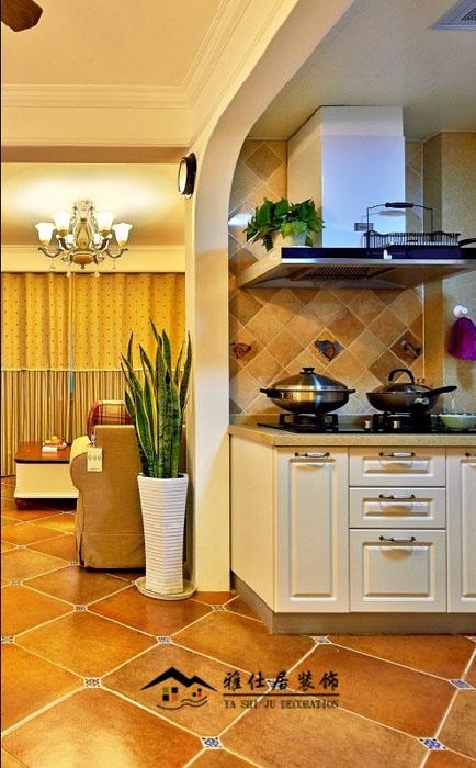 美式装修风格厨房