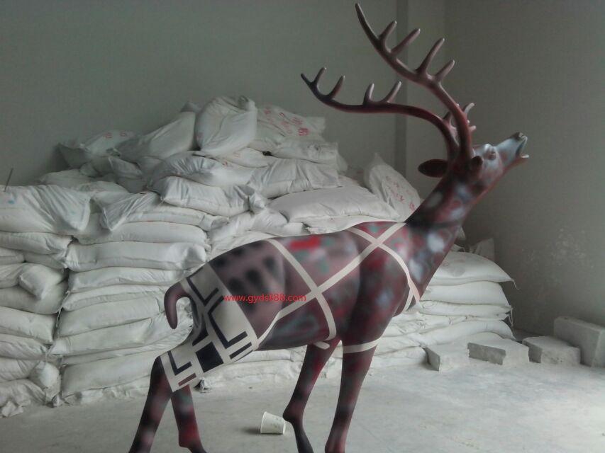 深圳玻璃钢动物雕塑工艺品饰品