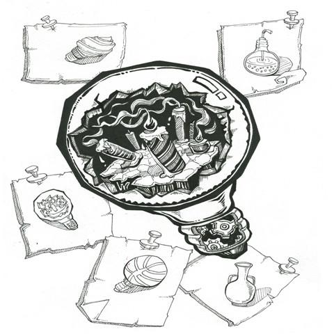 美术集训学造型_卵石动物造型美术教案
