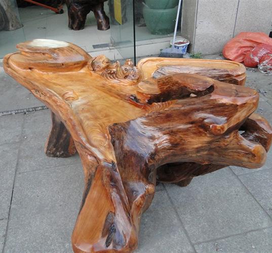 樟木根雕刻图片