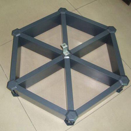 六角形铝格栅铝单板厂家定制介绍