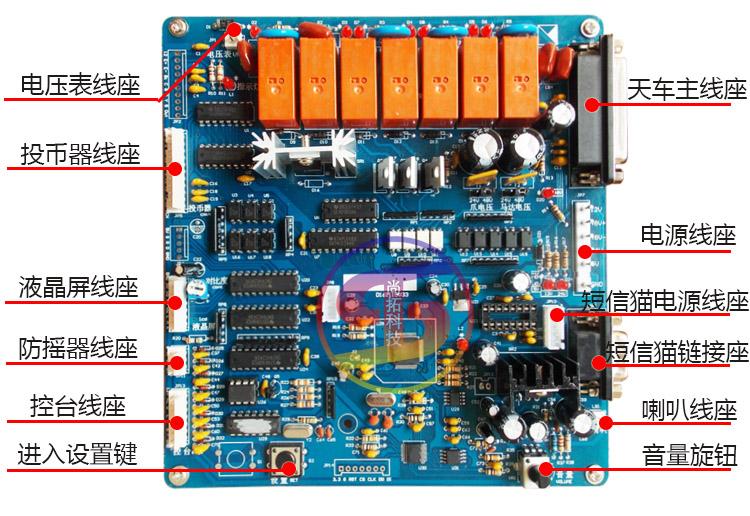 集成主板电源接线图解
