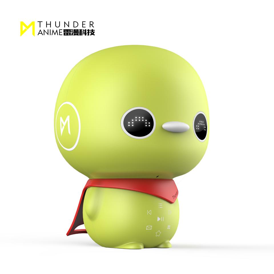 小孩智能机器人哪种功能强大-小绿智能机器人最适合小朋友茶餐厅详情请沟通