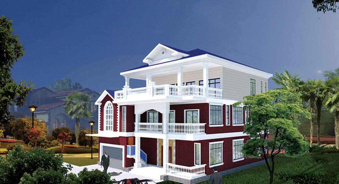 中式风格,还是目前十分流行的简欧风格,或者是三层以下以及多层别墅图片