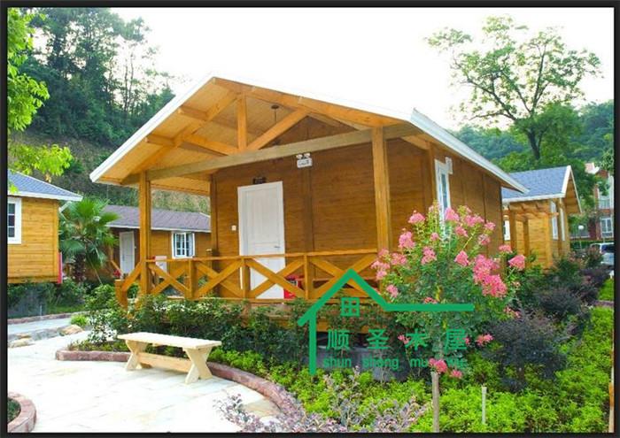 低碳环保手工制作房子