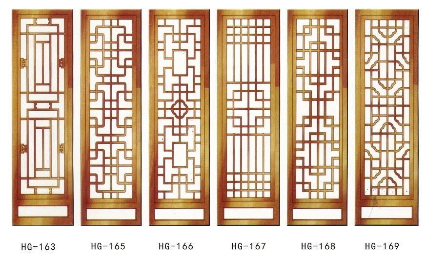 客厅木花格隔断木花格屏风中国风木花格装饰选哪里?