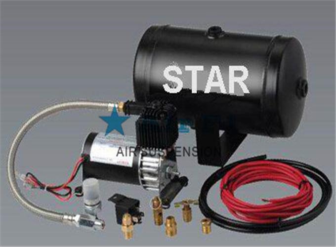 空气悬架工作原理就是用空气压缩机形成压缩空气图片