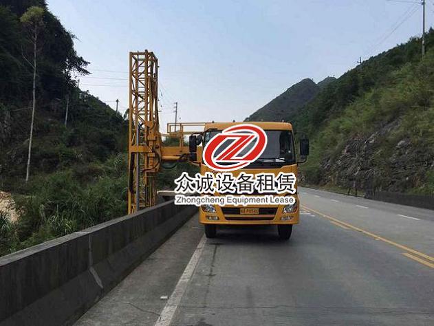 安徽省阜阳市谁有桥梁检测车租赁电话?