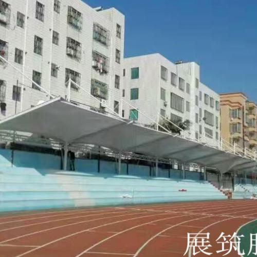 茂名一中附属学校体育看台膜结构工程