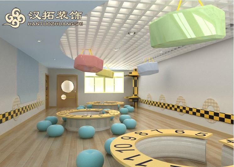 南京幼儿园装修色彩设计