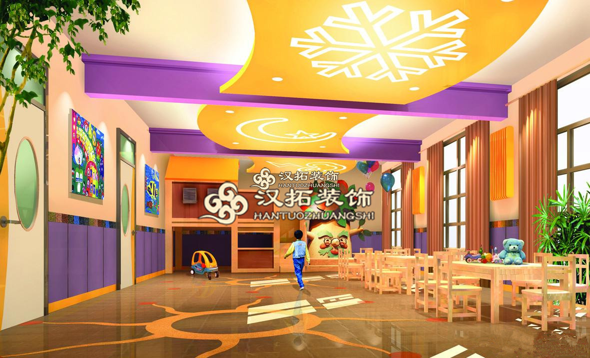 南京幼儿园室内环境装修设计与布局