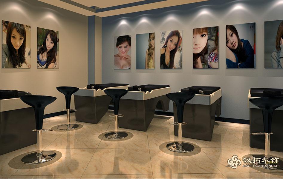 扬州理发店装修设计